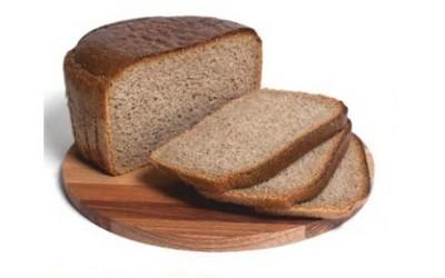 Хлеб Дарницкий формовой в упаковке (нарезанная часть изделия)