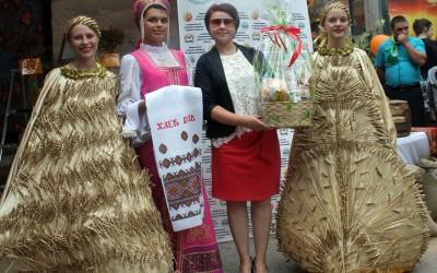 Участие на дне города в «Хлебный базар»