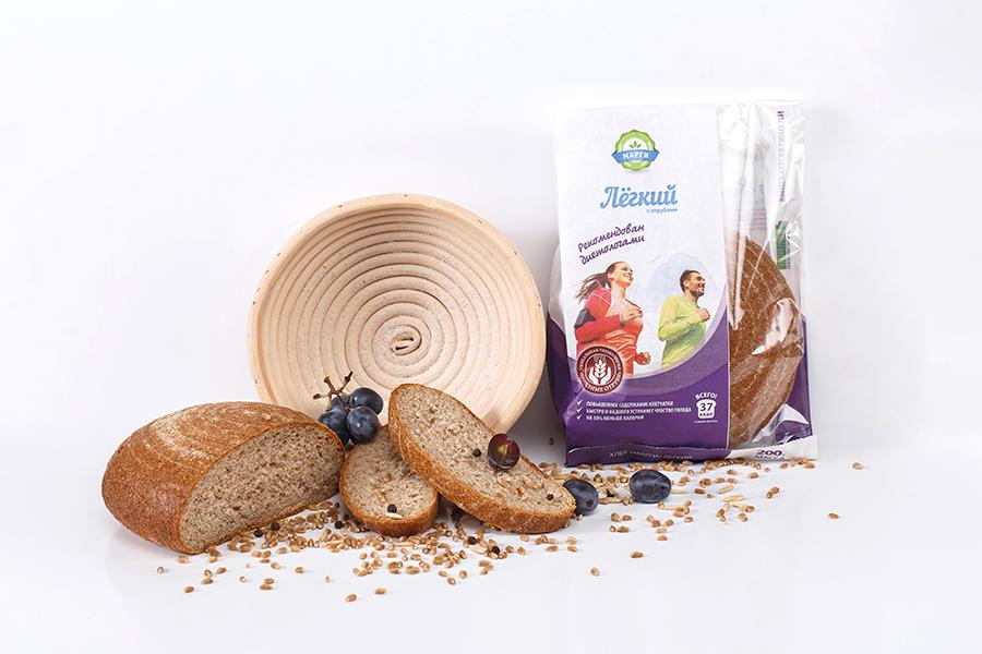 Хлеб из отрубей поможет стать здоровым и красивым