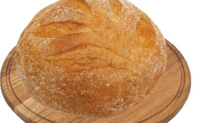 Хлеб Крестьянский из пшеничной муки высшего сорта подовый